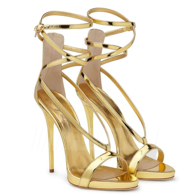 Women's PU With Buckle Heels Peep Toe Fashion Shoes