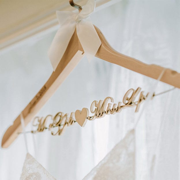Bride/Groom Gifts - Personalized Hanger