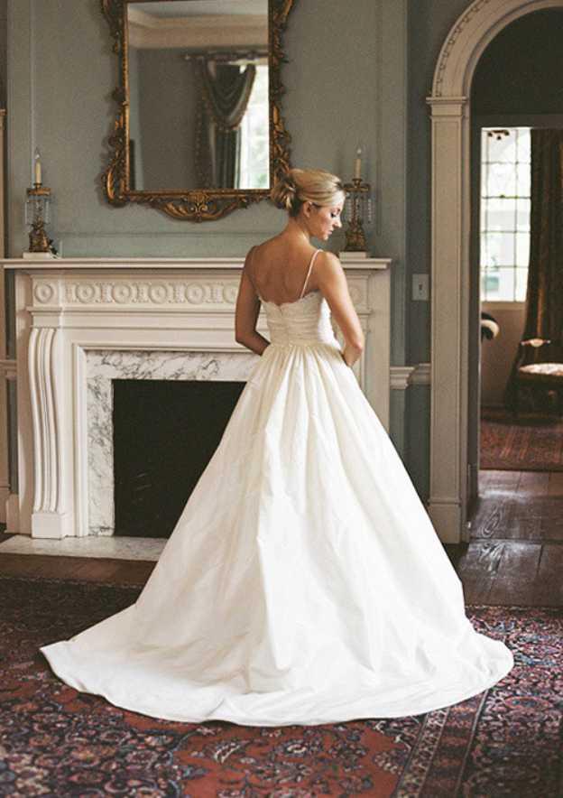 Ball Gown Scalloped Neck Sleeveless Court Train Taffeta Wedding Dress With Lace