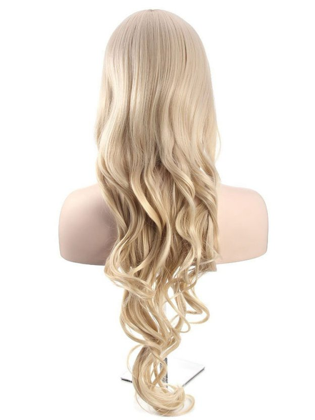 Long Wavy Capless 100% Remy Human Hair Wigs