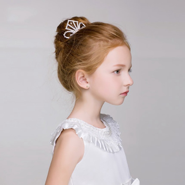 Alloy Child'S Hairpins With Rhinestone