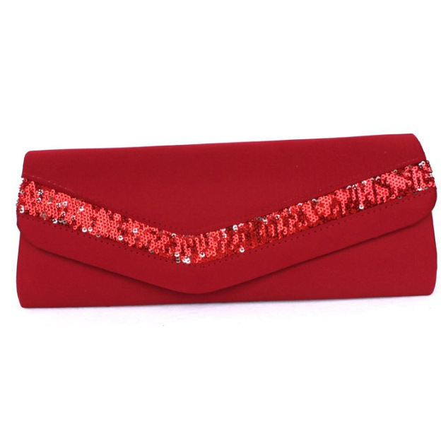 Silk Chain Wallets & Accessories With Sequin