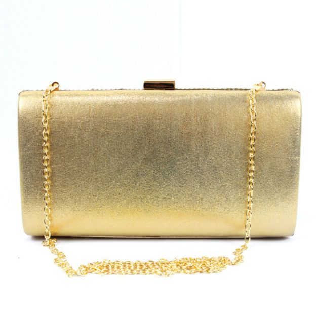Pu Chain Wallets & Accessories With Metal
