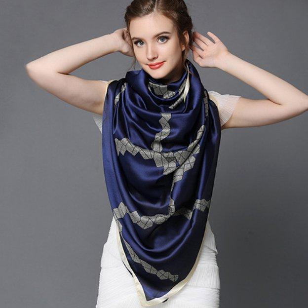 Chiffon Casual & Shopping Daily Scarves