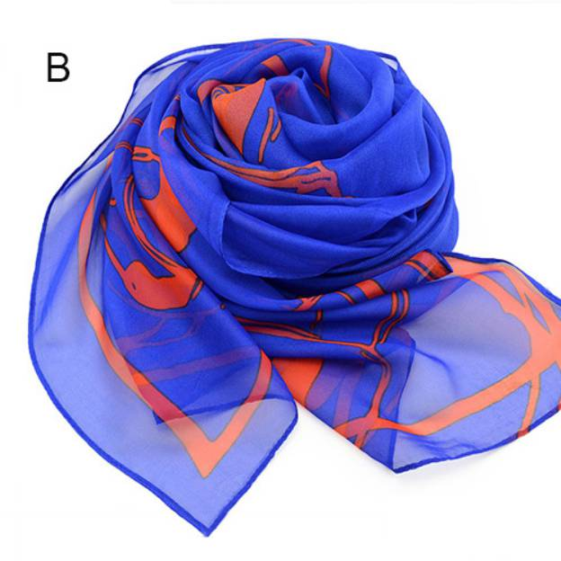 Chiffon Casual & Shopping Daily Outdoor Scarves
