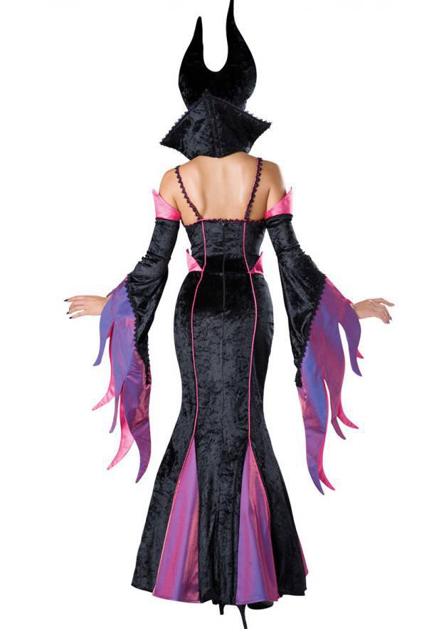 Polyester Female Sexy Costumes With Embroidery