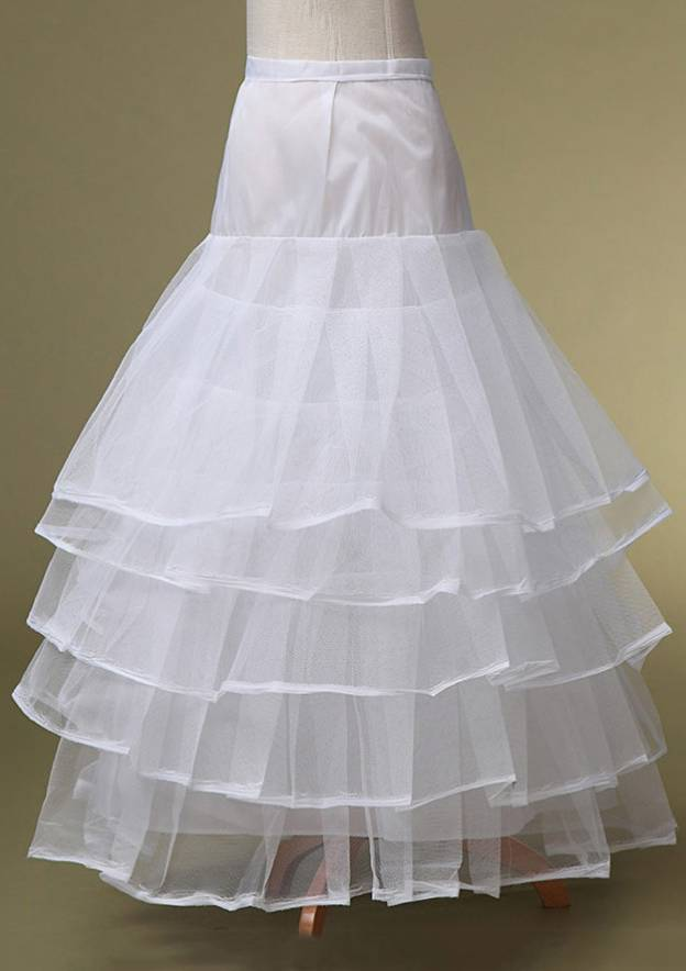 Ball Gown 5 Layers Long/Floor-Length Tulle Bridal Petticoats