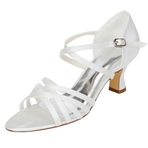 Sandals Chunky Heel Wedding Shoes