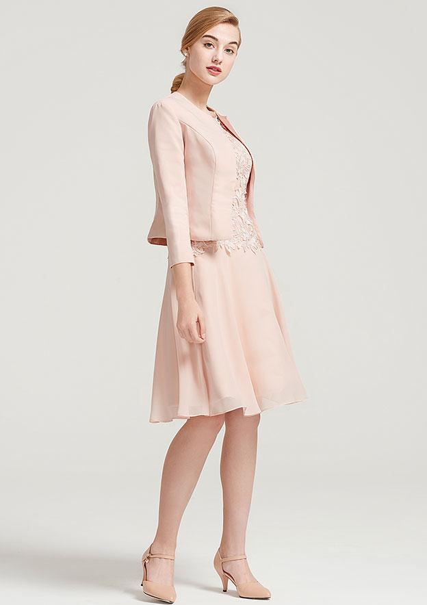 3/4 Sleeve Short Length Satin Jacket