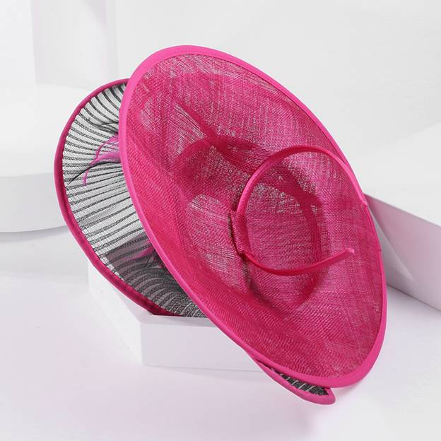 Ladies' Elegant/Charming Cambric Tea Party Hats/Fascinators With Feather