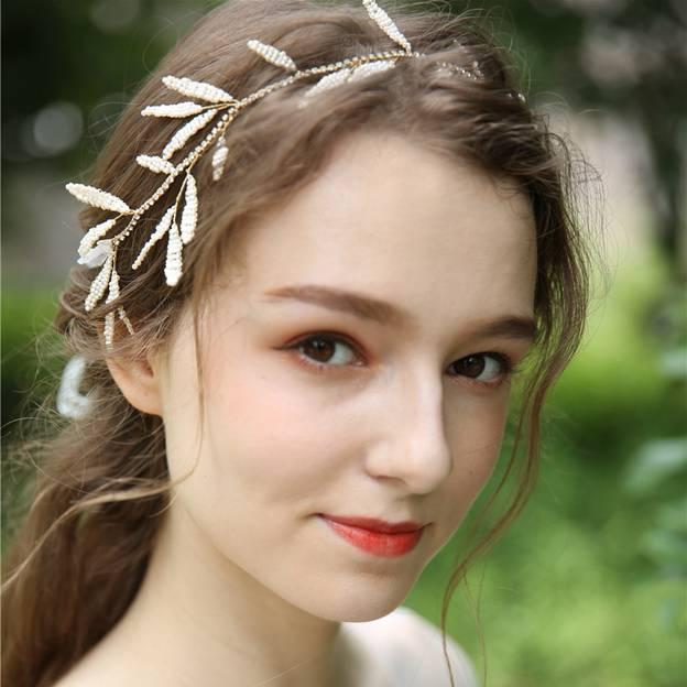 Ladies Simple/Shining Plastic/Resin Headbands