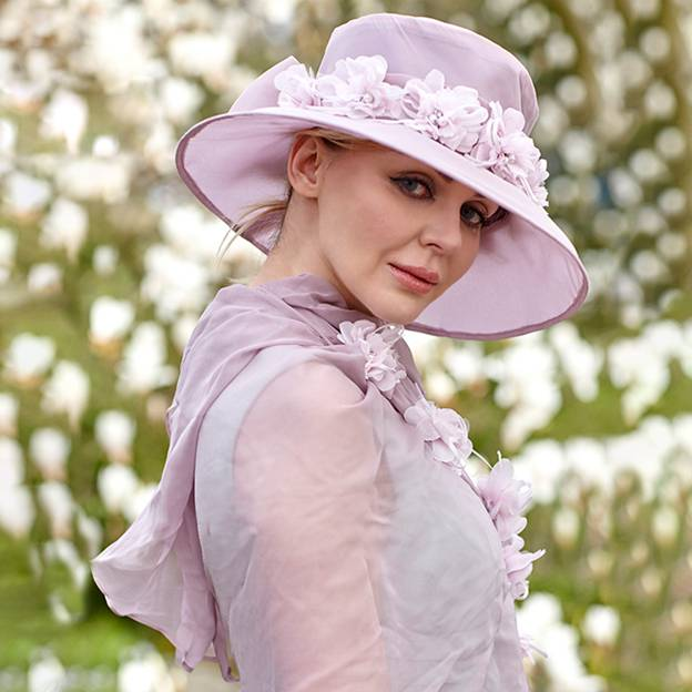 Ladies' Beautiful/Elegant Silk Tea Party Hats/Kentucky Derby Hats With Imitation Pearls Bowknot Silk Flower