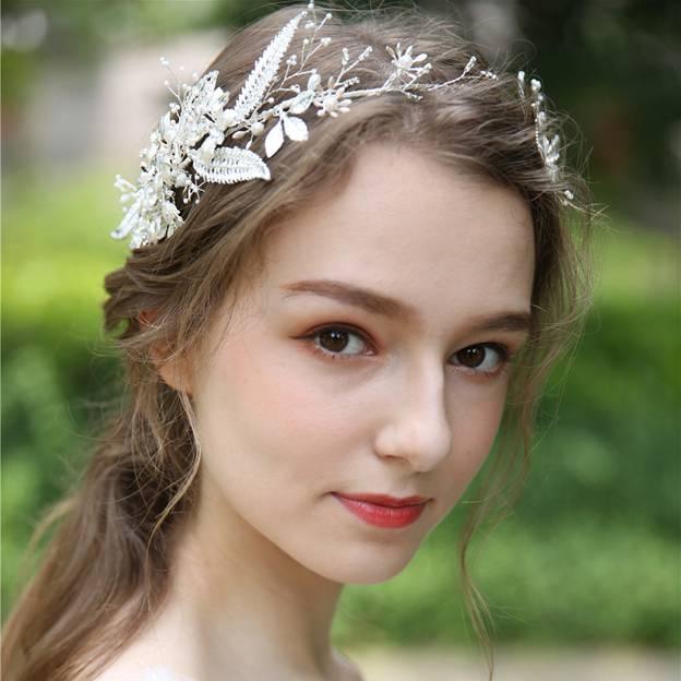 Ladies Glamourous/Beautiful Alloy/Beads/Imitation Pearls/Rhinestone Tiaras