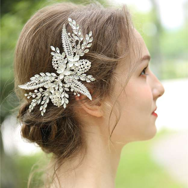 Ladies Beautiful/Shining Alloy/Beads/Rhinestone Hairpins