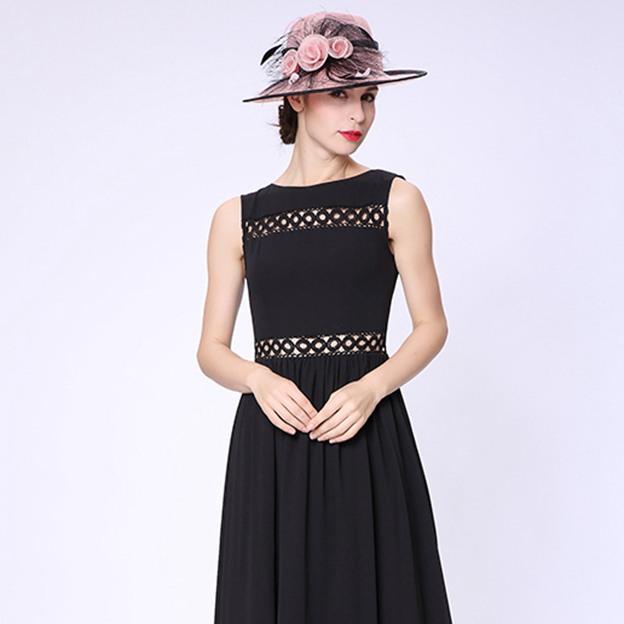 Ladies' Beautiful/Elegant Linen Beach/Sun Hats/Tea Party Hats With Flower Feather
