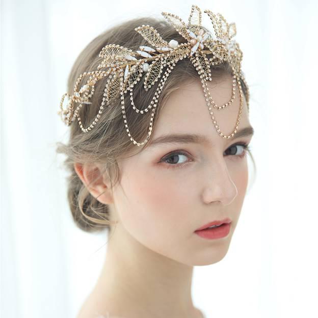 Ladies Beautiful/Gorgeous Crystal/Freshwater Pearl With Flower/Rhinestone Tiaras