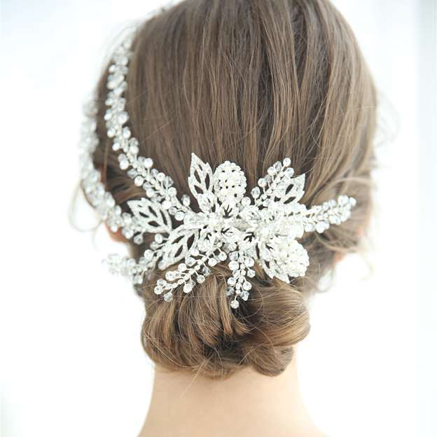 Ladies Glamourous/Beautiful Alloy/Imitation Pearls With Rhinestone/Crystal Hairpins