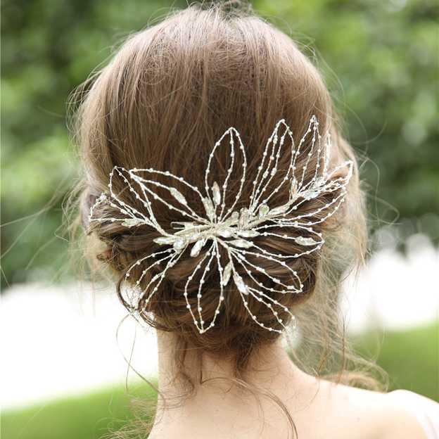 Ladies Beautiful/Eye-catching Alloy/Beads/Rhinestone Hairpins