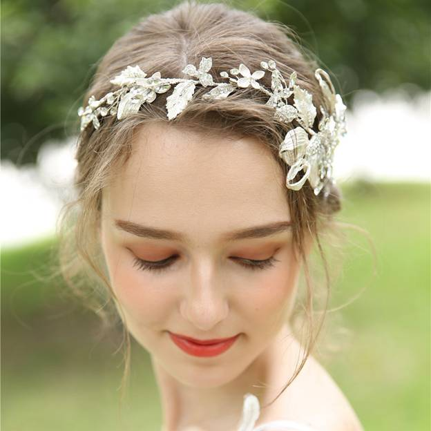 Ladies Eye-catching/Shining Alloy With Rhinestone Headbands