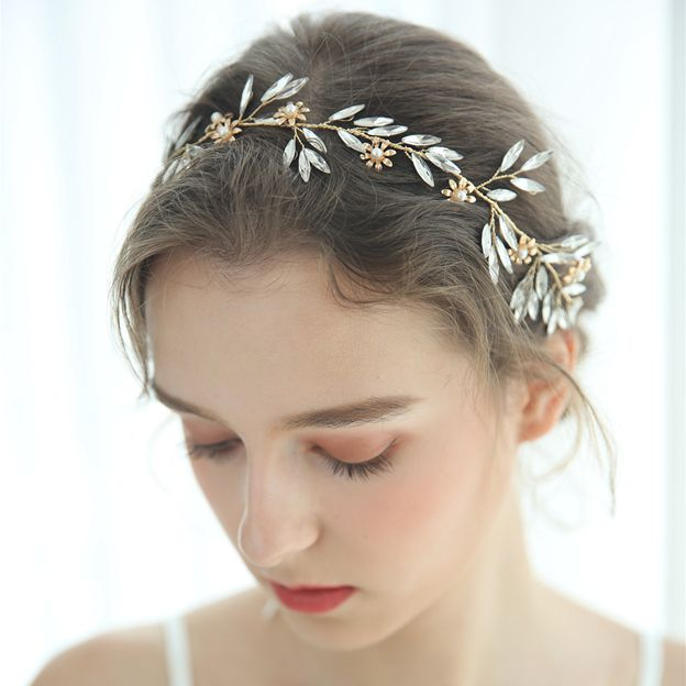 Ladies Special/Eye-catching Alloy/Imitation Pearls With Flower/Crystal Headbands