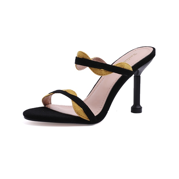 Girl's Women's Suede Heels Sandals Fashion Shoes