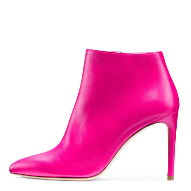 Women's PU With Zipper/Ankle Boots Heels Flip Flops Fashion Shoes