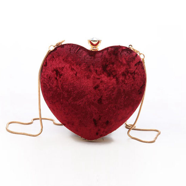 Attractive Suede Clutches/Shoulder Bags